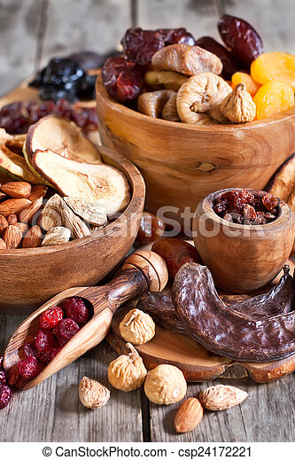 Mix of dried fruits - csp24172221