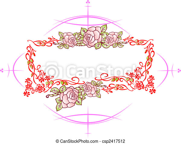 Wedding or Valentine`s day card, Vintage style. - csp2417512
