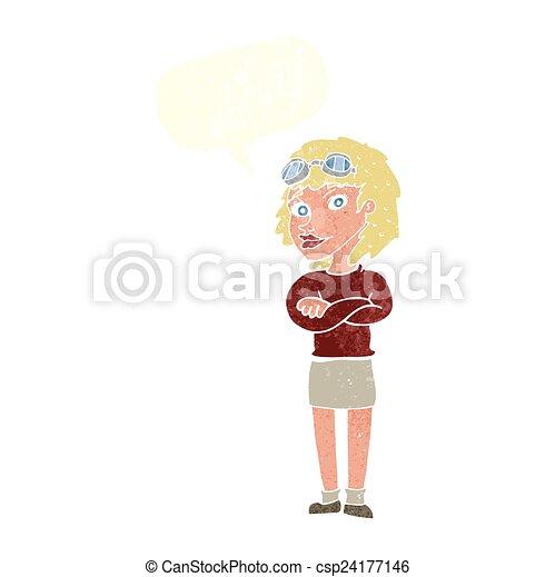 Cross Cartoon Drawing Cartoon Woman With Crossed