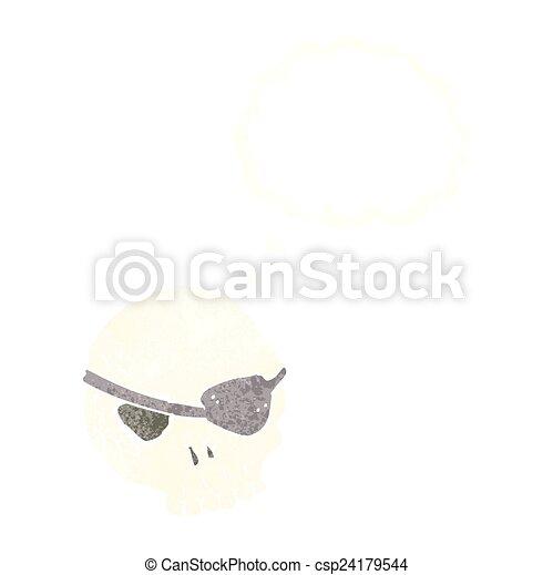 Vecteur EPS de dessin animé, crâne, oeil, pièce, pensée ... - photo #36