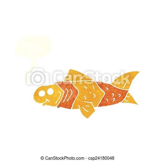 Eps vektor von karikatur lustiges fische vortrag halten for Fische halten