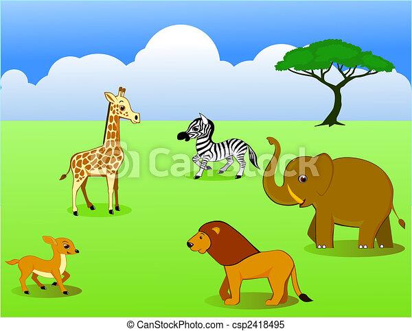 Safari - csp2418495