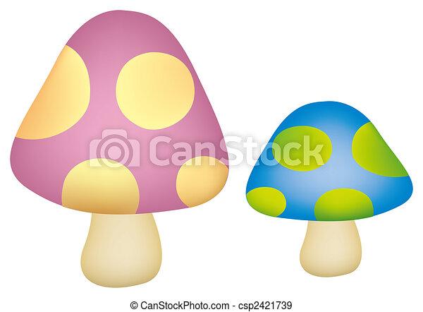 mushroom - csp2421739