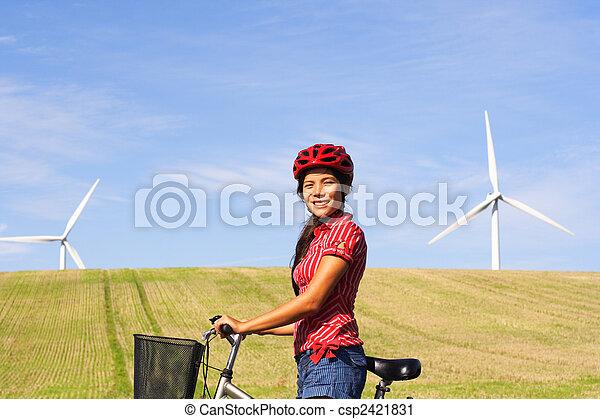 Sustainable future concept - csp2421831