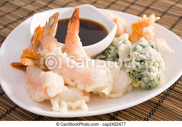 Tempura Shrimp - csp2422477