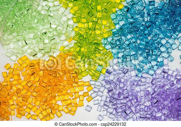 transparent polymer resin - csp24229132