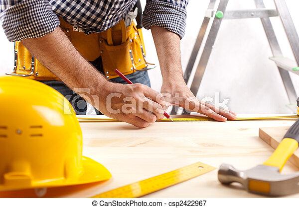 construção, esquema - csp2422967