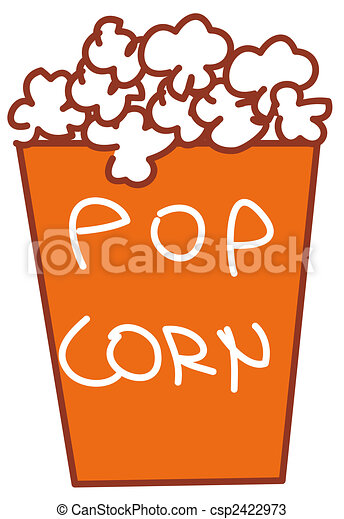 Pop corn - csp2422973