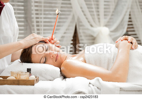 Ear Candling in Spa - csp2423183