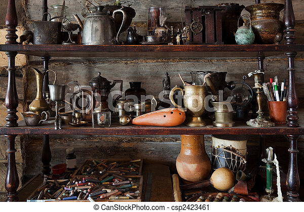 beautiful old objects - csp2423461