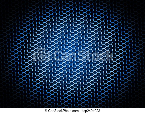 Drawings Of Honeycomb Background Blue Blue Honeycomb