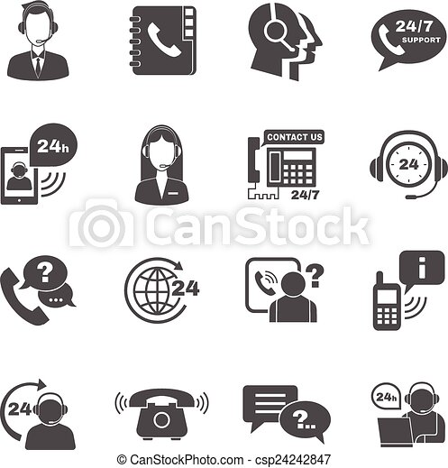 Contact Support Icon Support Contact Call Center