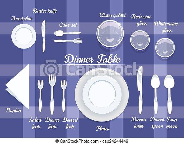 fine dining clip art