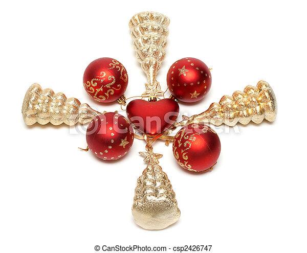 Cristmas embellishment - csp2426747