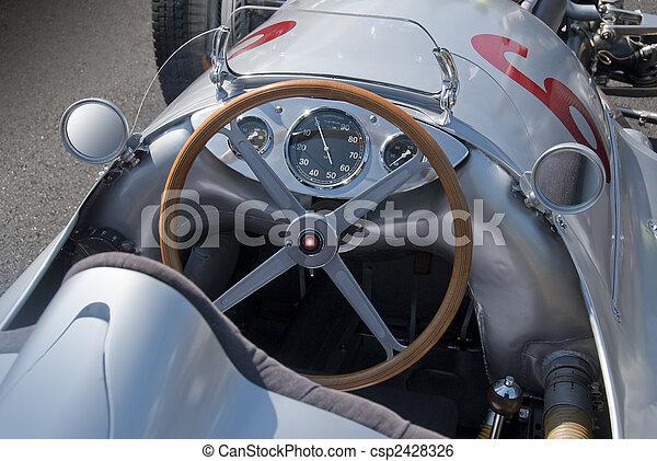 Mercedes W154 cockpit - csp2428326