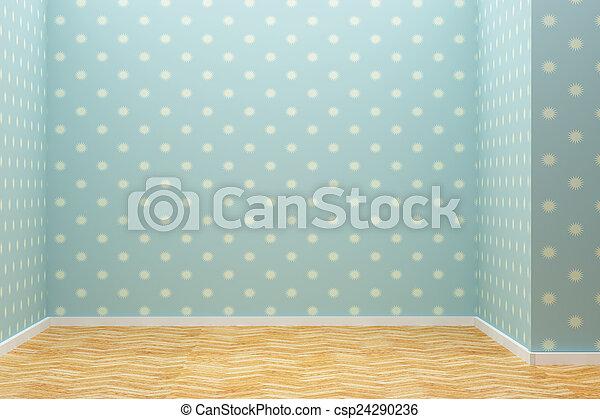 empty room - csp24290236