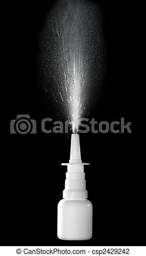 Nasal Spray - csp2429242