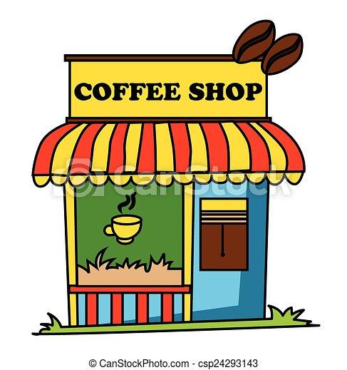 EPS Vector of Coffee Shop - Coffee Shop csp24293143 ...