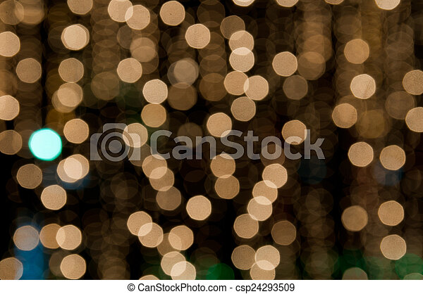 Gold bright bokhe background