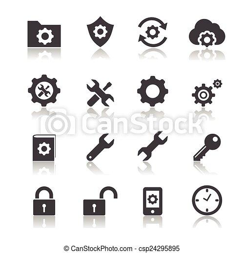 setting icon - csp24295895