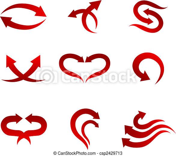 Arrow icons - csp2429713