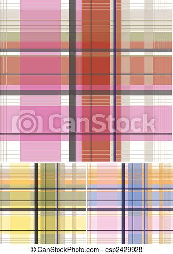 Check Fabric Pattern - csp2429928