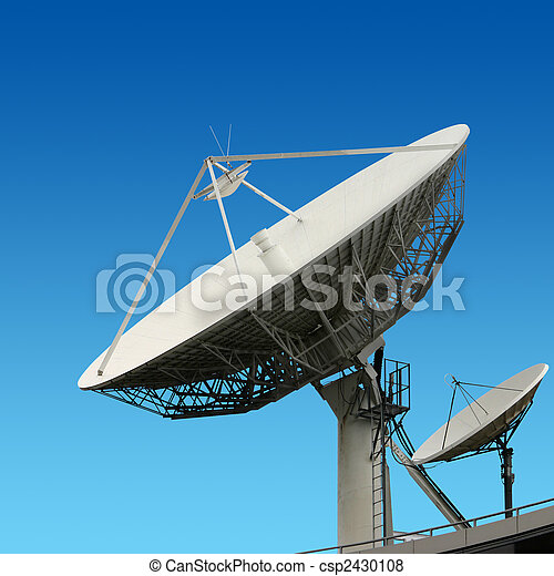 Satellite Dishes - csp2430108