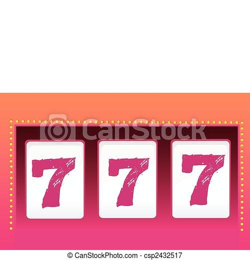 Slot Machine – Luck - csp2432517