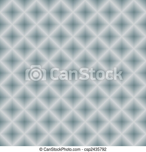 Silvery seamless metal geometric background (vector) - csp2435792