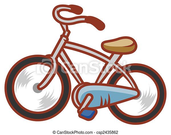 Fahrrad - csp2435862