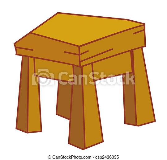 Stock de ilustrationes de taburete ilustraci n dibujo - Fotos de bancos para sentarse ...