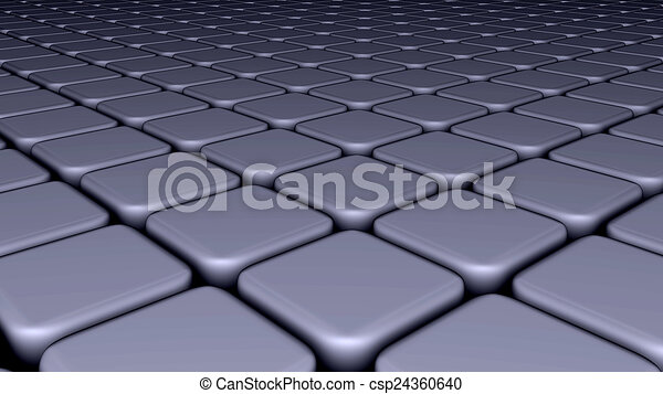 Abstract background blocks, cubes - csp24360640