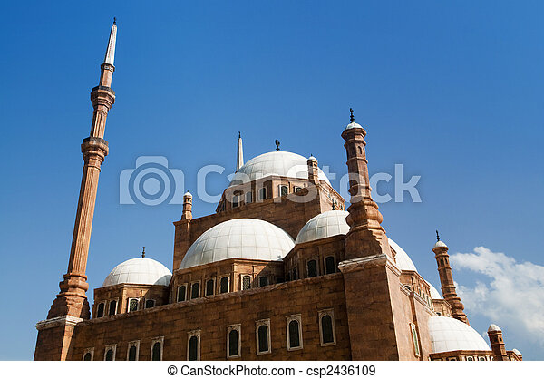 Mohammed Ali Mosque. - csp2436109