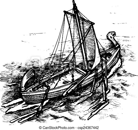 old ship - csp24367442