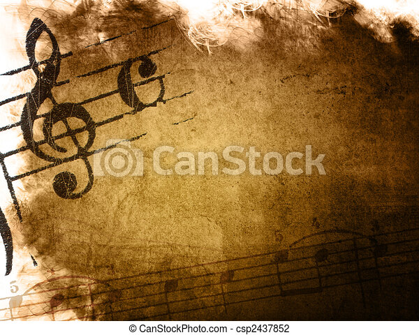 music grunge backgrounds - perfect background with space for text or image - csp2437852