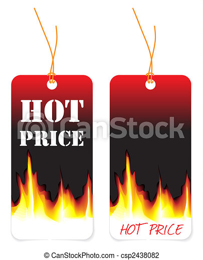 Hot price tags - csp2438082