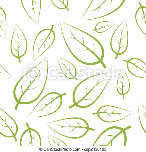 Fresh green leafs texture - csp2438103