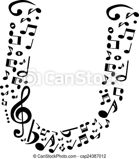 Abstract Vector Alphabet U Made From 24387012 in addition Sheet Music 5802378 in addition Music Notes Whimsical Style Decal Vinyl as well Tatoo Holy Cross 5131810 further Guitar. on music note drawings