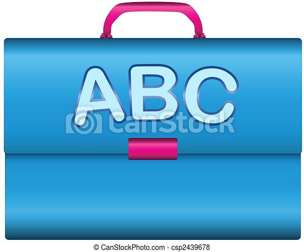 Scholar briefcase - csp2439678