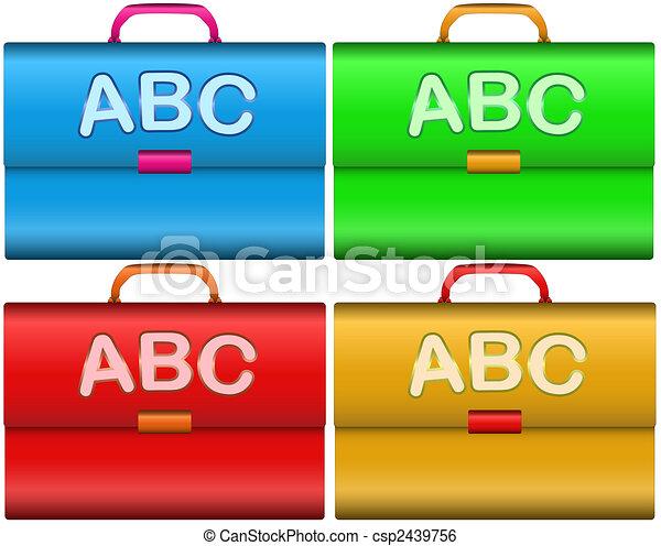 Scholar briefcases - csp2439756