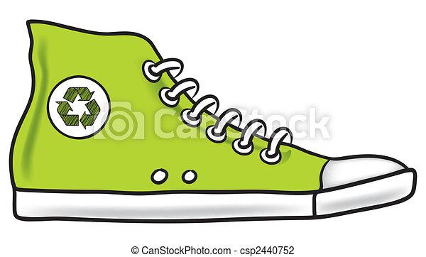Running shoe recycle - csp2440752