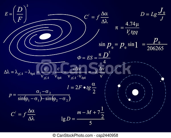 Galaxy and planets - csp2440958