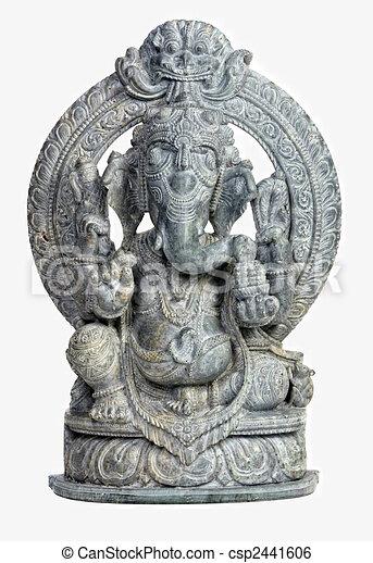 ganesh sculpture - csp2441606