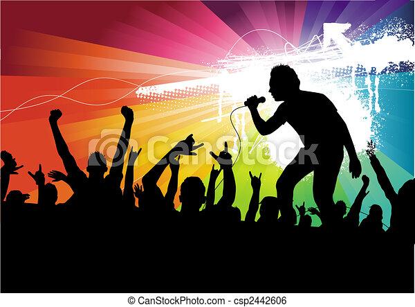 Superstar Crowd - csp2442606