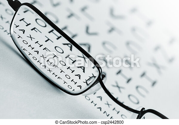 Eye Sight Test - csp2442800