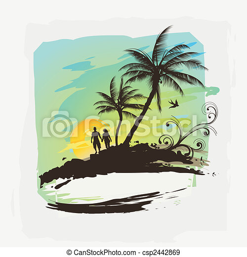 Tropical Summer  - csp2442869