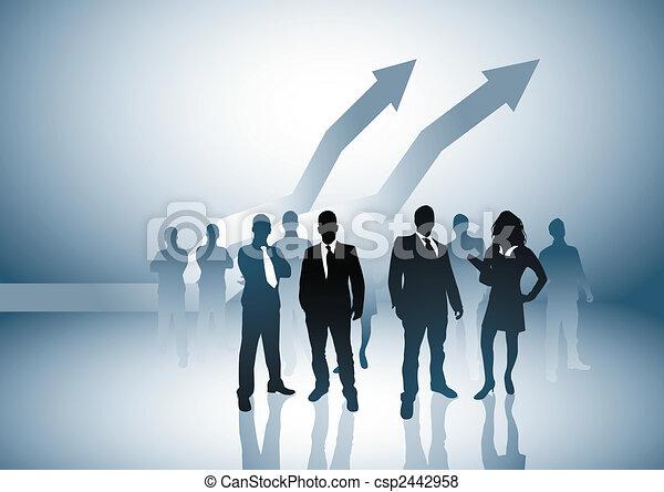 Rising Economy - csp2442958