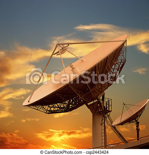 Satellite Dishes - csp2443424