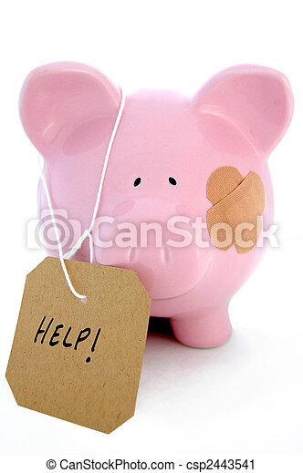 Banking crisis - csp2443541