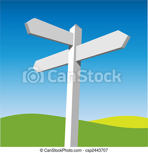 Sign Post - csp2443707